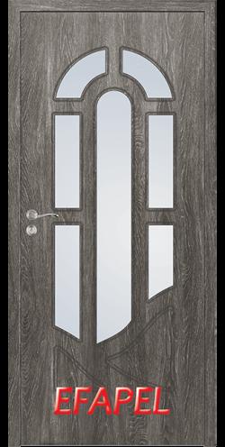 Интериорна врата Efapel 4512 Сив ясен