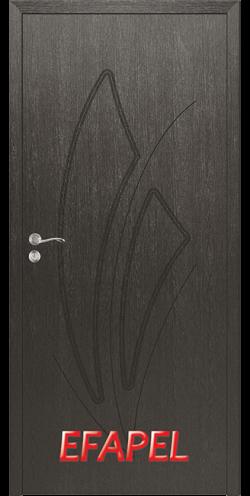Интериорна врата Efapel 4553P Черна мура