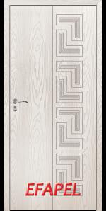 Интериорна врата Efapel 4561P Бяла мура