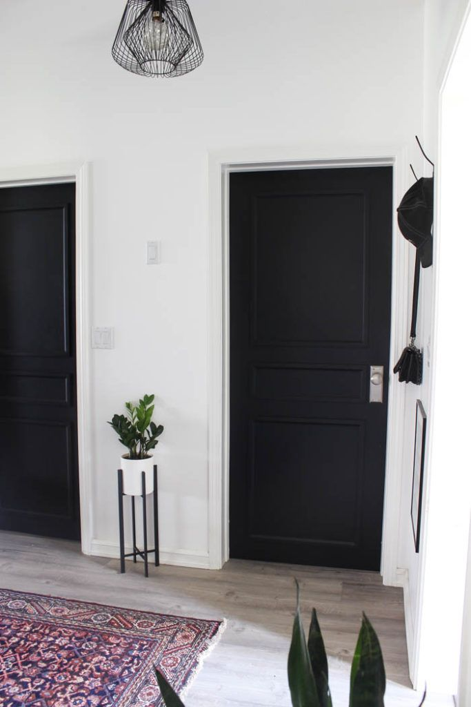 A Brand New Interior Door Design To Complete Our Modern Hallway Love Create Celebrate