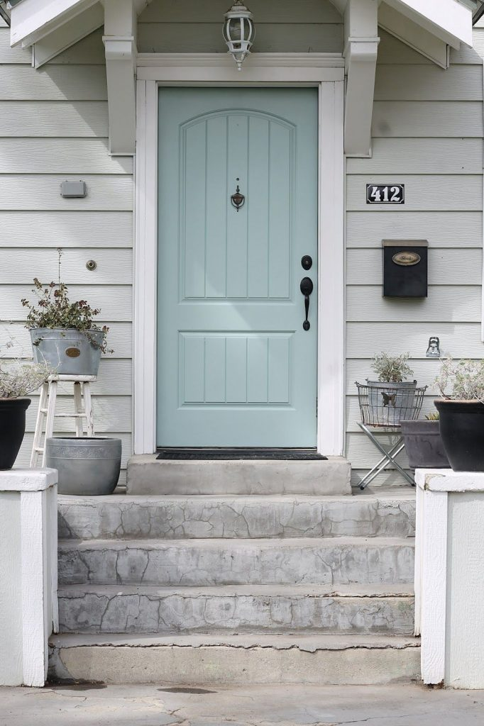 New Door Color Wythe Blue The Wicker House
