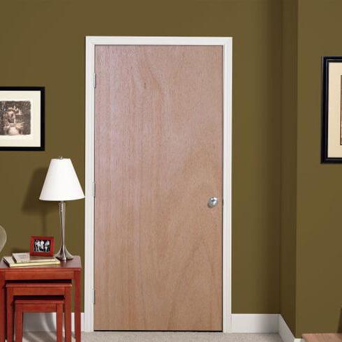 Кафява интериорна врата